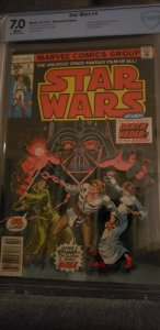 Star Wars #4 (1977) CBCS 7.O
