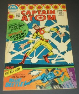 Captain Atom #83 FN/VF 1st Blue Beetle 1977 Bronze Age Comic Book Adventures Key