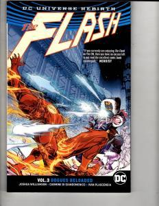 ROGUES RELOADED Flash Vol. # 3 DC Comics Graphic Novel Comic Book Batman J309