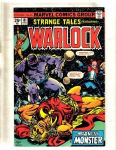 Strange Tales # 181 VF Marvel Comic Book Warlock Guardians Of The Galaxy FM2
