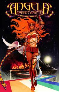 Marvel Angela Poster by Hans (24 x 36) Rolled/New!