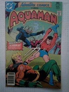 ADVENTURE COMICS #452  VF+ 1st Appearance CAL DURHAM  Death Aquababy Jim Amparo
