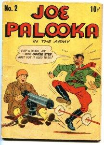 JOE PALOOKA #2 Hitler cover-Golden-Age comic book 1943