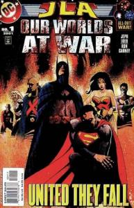 JLA Our Worlds at War #1, NM (Stock photo)