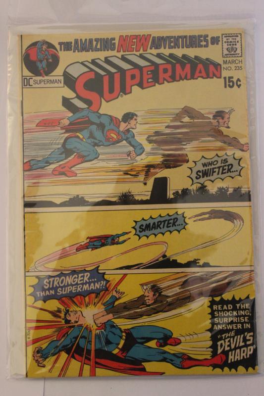 Superman 235 VG/FN