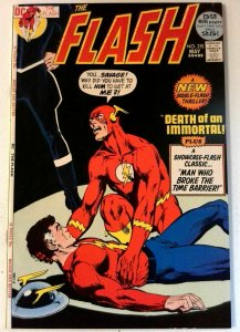 Flash #215 DC 1972 VF Neal Adams Key Issue Crossover Story Comic Book