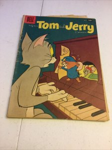 Tom And Jerry 166 Gd+ Good+ 2.5 Dell Comics Golden Age