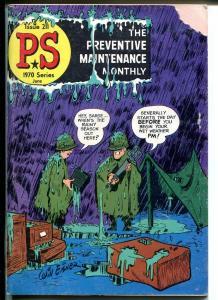 Preventive Maintenance Monthly #211 1970-Will Eisner-G/VG