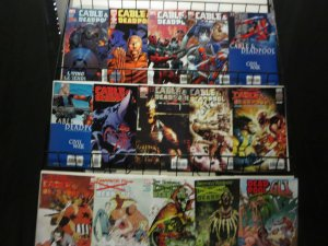 Cable & Deadpool (2006) Nicieza Medina 15 diff F-VF or better + Squirrel Girl