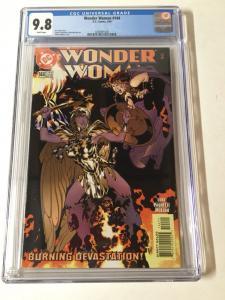 Wonder Woman 144 Cgc 9.8 White Pages Adam Hughes AH! Cover 1987 Series