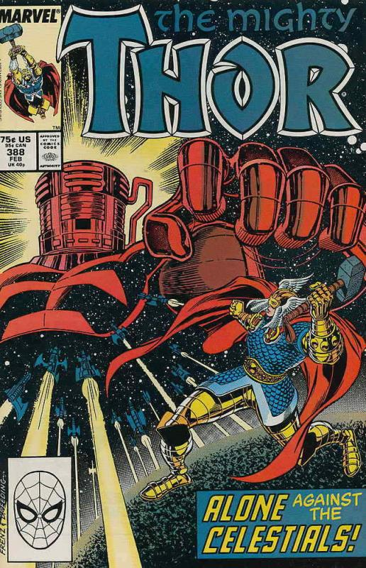 Thor #388 VF/NM; Marvel | save on shipping - details inside