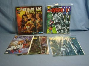 Nice Lot Of 9 Wizard Exclusive Promo Comic Books WITCHBLADE GENERATION X & MORE!