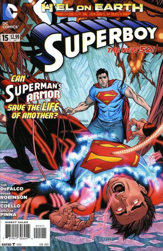 Superboy (5th Series) #15 VF/NM; DC | save on shipping - details inside