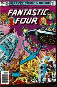 Fantastic Four #205, 9.0 or Better *KEY* 1st Nova Corps, 1st naming Dorrek VII