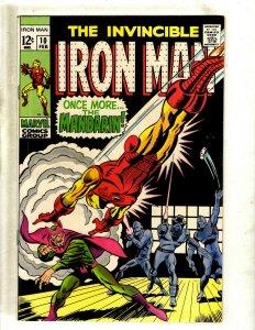 Iron Man # 10 VF Marvel Comic Book Avengers Hulk Thor Captain America J462