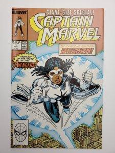 Captain Marvel #1 (1989)