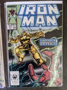 Iron Man #218 (1987)