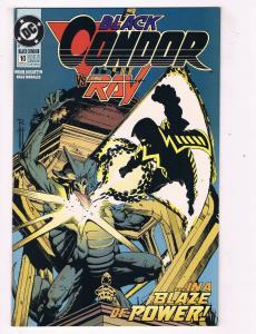 Black Condor #10 VF DC Comics Comic Book Augustyn Mar 1993 DE40 AD14