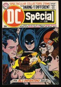DC Special #1 FN/VF 7.0 Tongie Farm Collection Batman Superman Green Lantern!