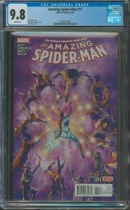 Amazing Spider-Man #10 CGC Graded 9.8