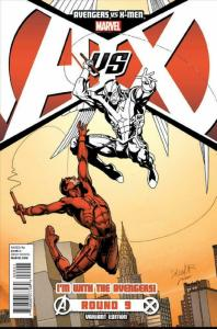 Avengers vs. X-Men #9C VF/NM; Marvel   save on shipping - details inside