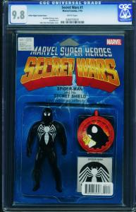 Secret Wars #1 CGC 9.8-2015-action figure variant-Marvel- 0260755033