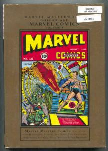 Marvel Masterworks Golden Age Marvel Comics Vol 4 hardcover