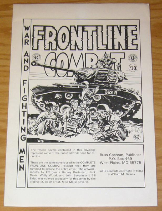Frontline Combat Portfolio - wally wood - harvey kurtzman - jack davis - severin