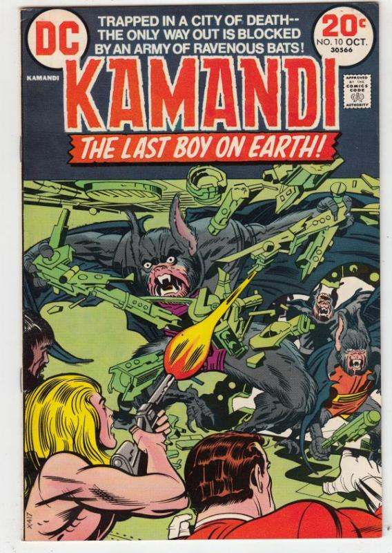 Kamandi the Last Boy on Earth #10 (Oct-73) NM Super-High-Grade Kamandi