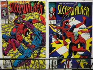 SLEEPWALKER 5-6 WEB OF CONFUSION SPIDERMAN story!