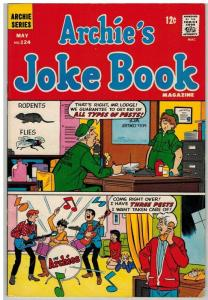 ARCHIES JOKE BOOK (1954-1982) 124 VG-F May 1968