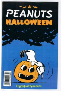 PEANUTS Halloween ashcan, NM-, Promo, Snoopy, Charlie Brown, Lucy, Linus, 2008
