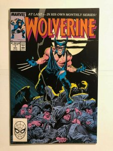 Wolverine 1 - 1st issue in continuity