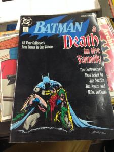 Batman A Death in the Family TPB 1st printing