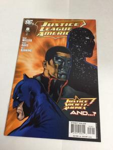 Justice League Of America 8 Variant Nm Near Mint DC Comics
