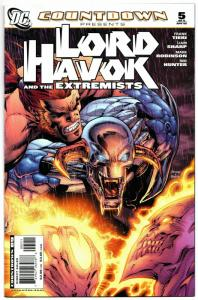 Countdown Lord Havok and the Extremists #5 (DC, 2008) VF