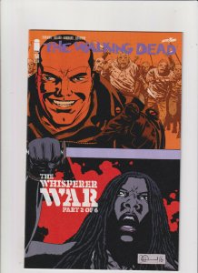 The Walking Dead #157 NM- 9.2 Image Comics Beta Negan Whisperers War pt.2