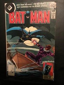 Batman #306 (1978) rare Whitman cover! Mid high grade.  Black Spider 1st FN/vF
