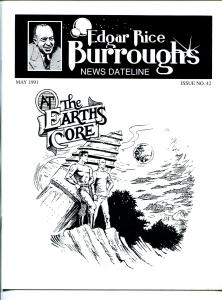 Edgar Rice Burroughs News Dateline #42 1991-Tarzan-new format issue-VF
