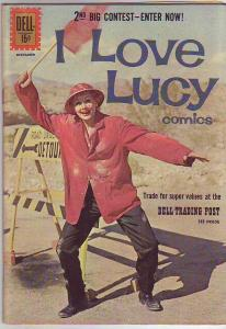 I Love Lucy #33 (Dec-61) FN Mid-Grade Lucy and Ricky Ricardo, Ethel Mertz, Fr...