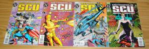 Metropolis S.C.U. #1-4 VF/NM complete series - superman - special crimes unit