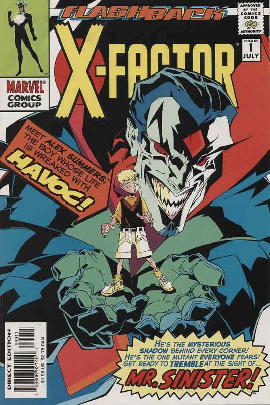 X-Factor #Minus 1 VF/NM; Marvel | save on shipping - details inside