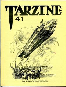 Tarzine #41 1985-Fanzine for collectors of Tarzan and ERB memorabilia-VF