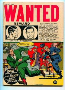 WANTED #9 1947-TOY TOWN-JAY JOSTYN-VG+