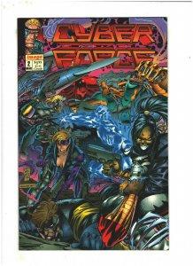 Cyberforce #2 VF/NM 9.0 Image Comics 1992 Marc Silvestri