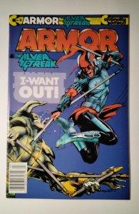 Armor #3 (1987) Continuity  Comic Book J756