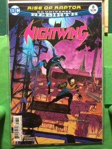 Nightwing #8 DC Universe Rebirth
