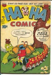 Ha Ha #74 1950-ACG-Little Black Sambo story-unique cover art-VG