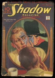 THE SHADOW FEB 1 1935-PLOT MASTER-STREET & SMITH--PULP G