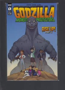 Godzilla: Monsters And Protectors #1 Cover A